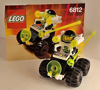 Lego 6812 Grid Trekkor, Blacktron Complete Set With Instructions