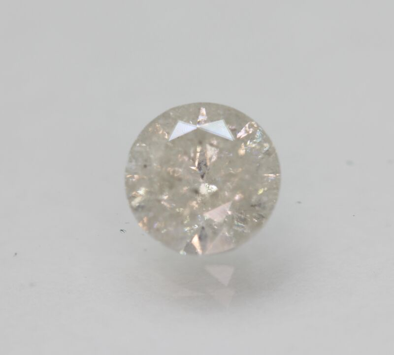 Certified 1.62 Carat G Color Round Brilliant Natural Loose Diamond 7.2mm