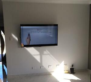 "SUPPLY AND INSTALL A PLASMA,LCD,LED TV FIXED  BRACKET 30""-60"" !! Heathridge Joondalup Area Preview"