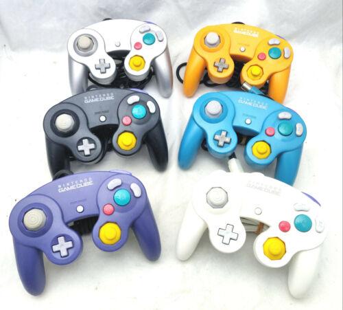 Nintendo Gamecube Controller Genuine OEM - CHOOSE YOUR COLOR - Black Blue White