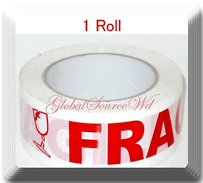 1 Roll 2 X 110 Yds Fragile Seal Packing Tape If Seal Is Broken