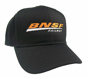 BNSF Railway Railroad Embroidered Cap Hat 40-0048