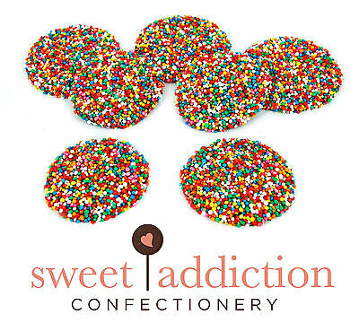 750g Premium Milk Chocolate Big Speckles - Bulk Party Freckles Candy Buffet  ()