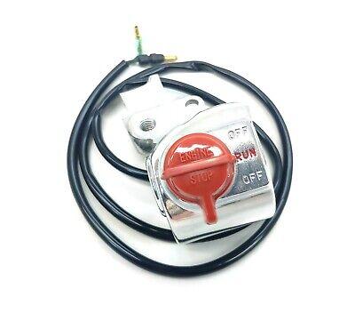 Genuine Honda Kill Switch 91-99 Z50R On/Off Stop Switch Throttle Housing #T249