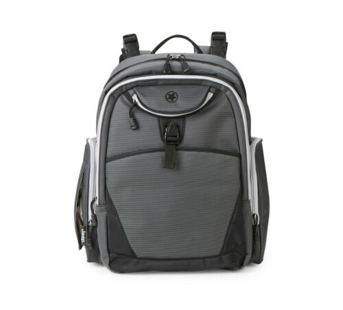 Adventurers Backpack Diaper Bag spacious interior and storage travel convenience