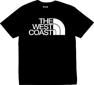 The West Coast T Shirt  Cali Ca New Dope Tee Dub Ws Wc Pimp Streets Hood Twc
