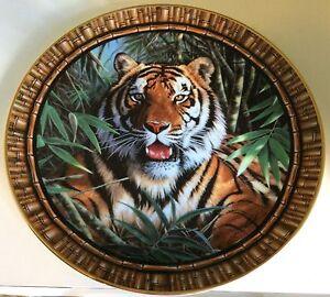 Franklin Mint Plates - Wild Cat series Duffy Weston Creek Preview