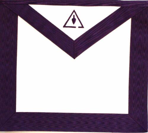 RSM ROYAL & SELECT MASON Masonic Council Member Apron