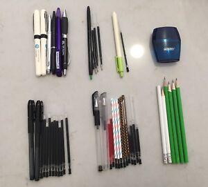 Pens/ Ball pens / Pencils /  Erasers / Markers etc.