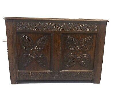Solid Oak Coffer / Blamket Box