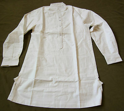 WWI IMPERIAL GERMAN ARMY COMBAT FIELD SERVICE WHITE SHIRT-LARGE