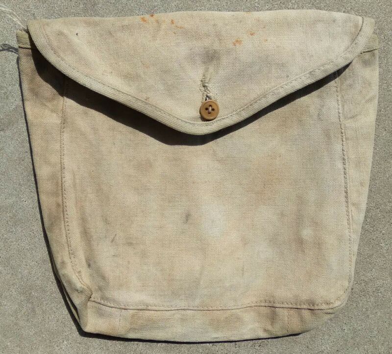 World War I USMC Meat Can Pouch Mess Kit Carrier Marines Marine Corps Field Gear