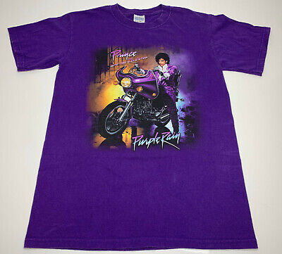 Retro The Artist Formerly Known As Prince Purple Rain Small T-Shirt