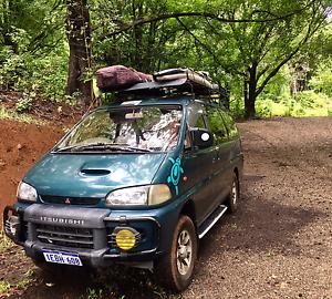Mitsubishi Delica Campervan 4x4 Noosa Heads Noosa Area Preview