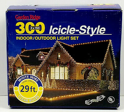 Foremost 300 Icicle Add A Set Indoor Outdoor Steing Light Set 29 ft 27 Hangings