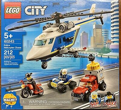 LEGO City 60243 Helicopter Chase
