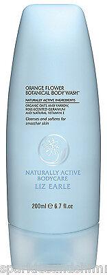 Liz Earle Orange Flower Botanical BODY WASH Shower Gel 200ml