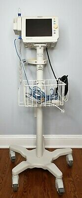 Philips SureSigns VS3 Patient Vital Signs Monitor SpO2 NiBP Temp & Rolling Stand
