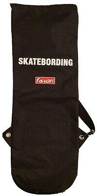 Favori Skateboarding Skatebording Carry Bag Black with Strap