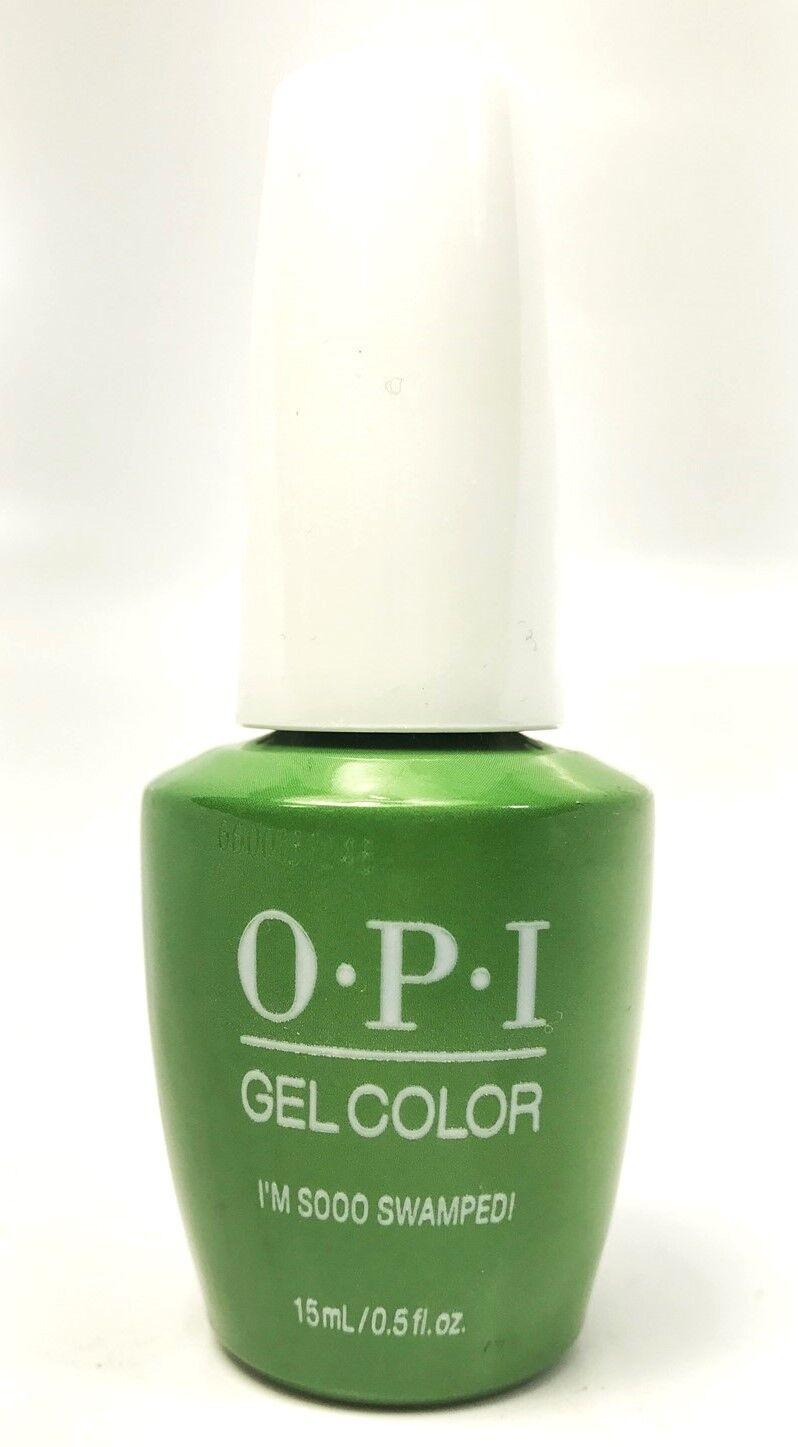 Opi Soak-Off GelColor Gel Nail Polish I\'m Sooo Swamped! #N60 ...