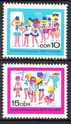 DDR 1968 Mi. Nr. 1432-1433 Postfrisch ** MNH