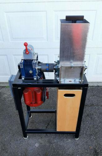 Precious Plastic Waste Shredder Machine, Powder coated steel frame, Made in USA