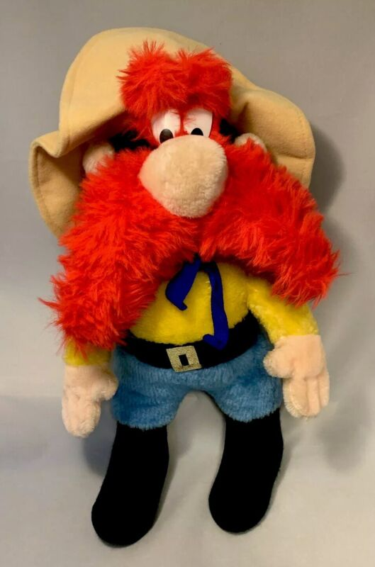 Vintage '71 WB Warner Brothers Yosemite Sam MIGHTY STAR Wire Plush Stuffed Doll
