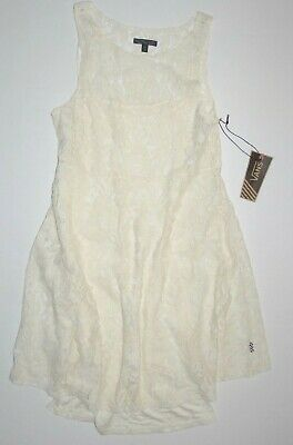 Vans Damen Mapleton 2-tlg Spitze Overlay Kleid Größe M