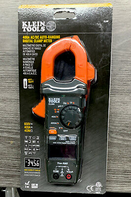 Klein Tools 400 Amp Acdc Digital Clamp Meter Auto-ranging Cl390 New