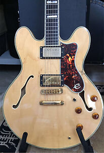 Epiphone Sheraton II semi hollow body electric guitar Frenchs Forest Warringah Area Preview