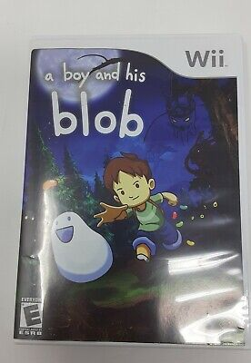 David Crane's: A Boy and His Blob (Nintendo Wii) Complete with case and manual