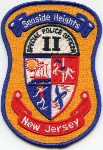 SEASIDE HEIGHTS NEW JERSEY NJ Special Police Officer Two POLICE PATCH