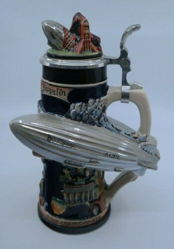 Limited Edition WW-Team HINDENBURG Beer Stein - Made in Germany