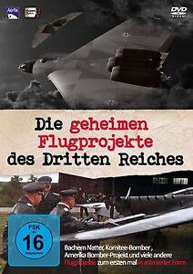 Die geheimen Flugprojekte des 3. Reiches - DVD
