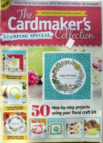 The Cardmakers Collection Magazine Scrapbook Cardmaking 50 Step bystep projects