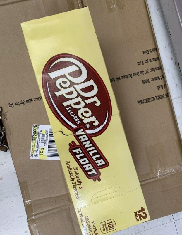 🍻12oz (36 Pack  ) dr. pepper Vanilla Float New Limited Edition Coke Coke Sprite