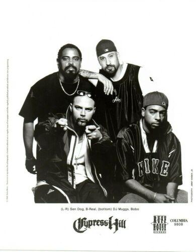 CYPRESS HILL PUBLICITY PHOTO promo press  8X10 Rap Hip Hop vtg 90s Group Band