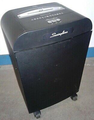 Swingline Dx20-19 Commercialbusiness Paper Shredder Cross Cut Jam Free Self Oil