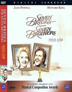 Seven Brides For Seven Brothers (1954) Jane Powell / Howard Keel DVD NEW