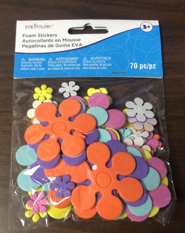 Flower Foam Stickers Creatology