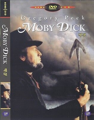 Moby Dick (1956) Gregory Peck / Richard Basehart DVD NEW *FAST SHIPPING*
