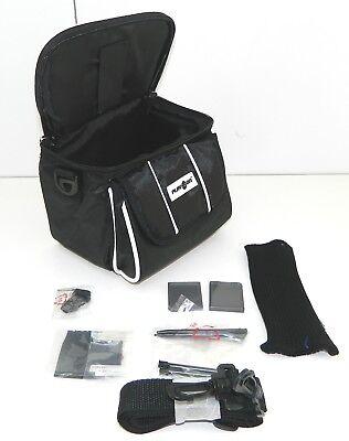 Black Nintendo DS Lite/DSi/DSi XL/3DS/3DS XL Travel Bag Carry Case + Accessories