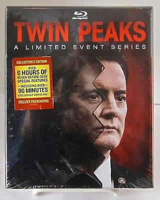 Twin Peaks  A Limited Events Series Blu Ray W Limited Edition Packaging