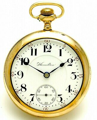 HAMILTON 946 RAILROAD POCKET WATCH CA1905 | ANTIQUE 23 JEWEL 18 SIZE