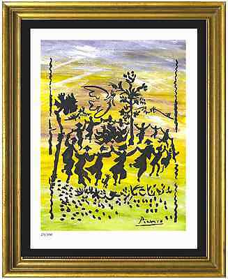 """Pablo Picasso Signed/Hand-Numbered Ltd Ed """"Long Live Peace"""" Litho (unframed)"""
