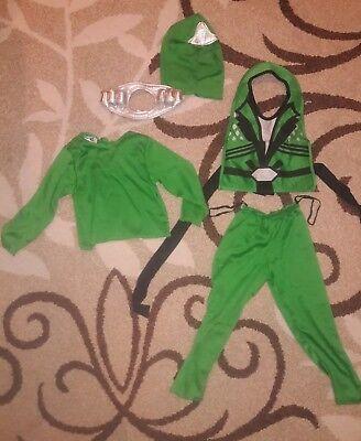 Green Ninja Avenger Costume (Green Ninja Avenger Deluxe Halloween Costume Size Toddler)