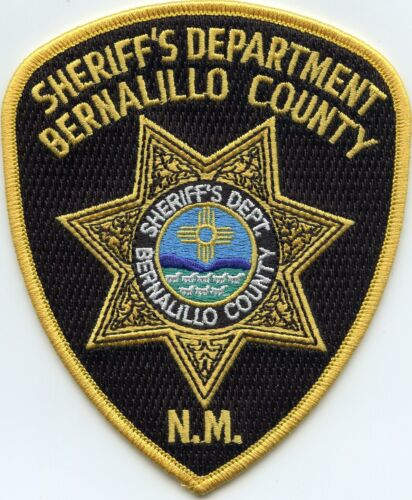 BERNALILLO COUNTY NEW MEXICO NM SHERIFF POLICE PATCH