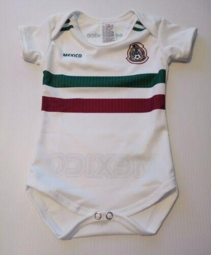 Mexico 2018 White baby soccer jersey mameluco bebe