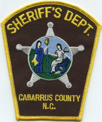 CABARRUS COUNTY NORTH CAROLINA NC SHERIFF POLICE PATCH