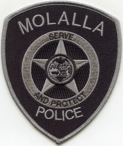 MOLALLA OREGON OR Serve And Protect POLICE PATCH